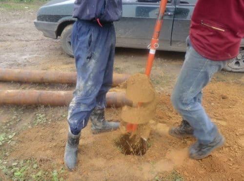выкапывание ям