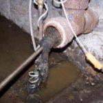 забитая канализация