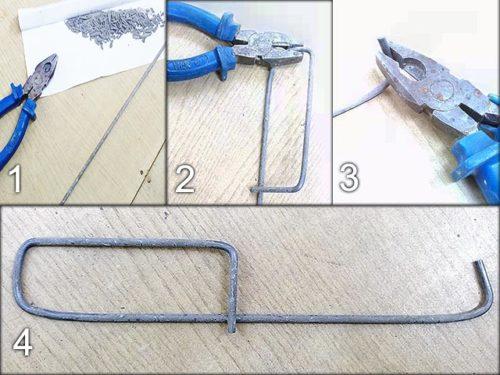 крючок из электрода