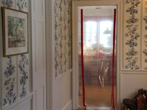 закрытие дверного проема