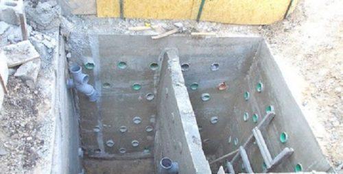 яма из бетона