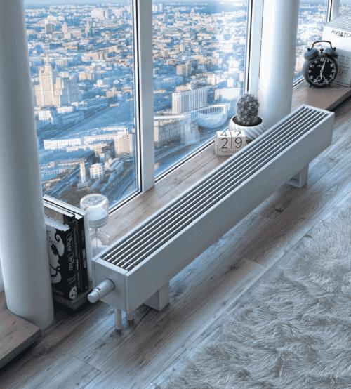 радиатор под панорамное окно
