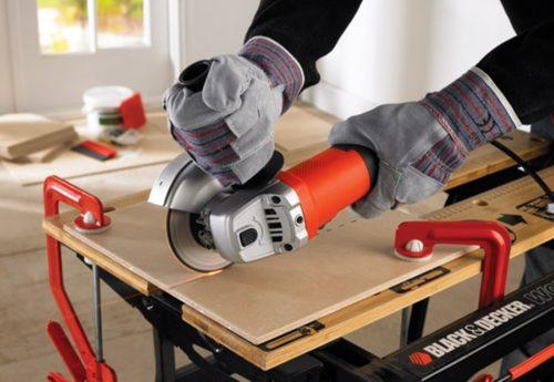 Как разрезать плитку с помощью болгарки в домашних условиях