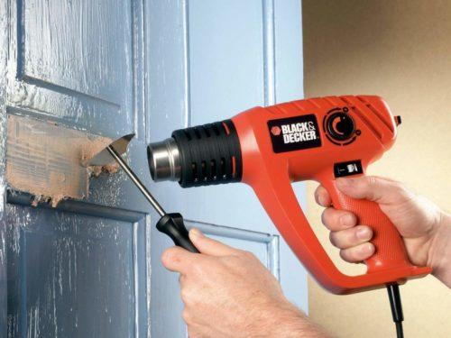 Как пользоваться строительным феном — применение в домашних условиях