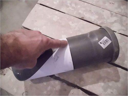 Как ровно отрезать трубу с помощью болгарки