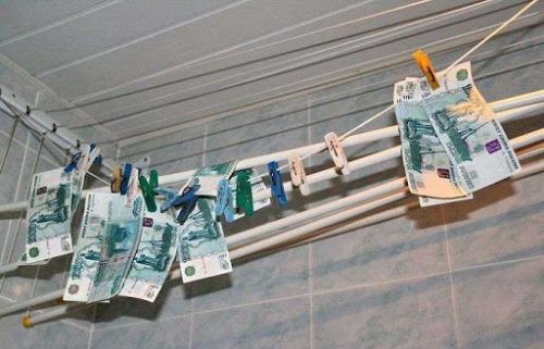 Что делать, если постирал деньги? Выход есть!