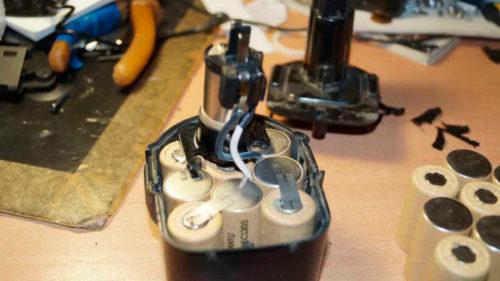 Как переделать шуруповерт на литий ионные аккумуляторы