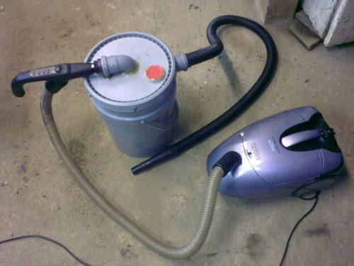 Как сделать промышленный пылесос из обычного своими руками