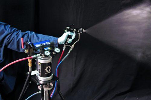 Настройка краскопульта — рабочее давление, диаметр сопла и размер факела