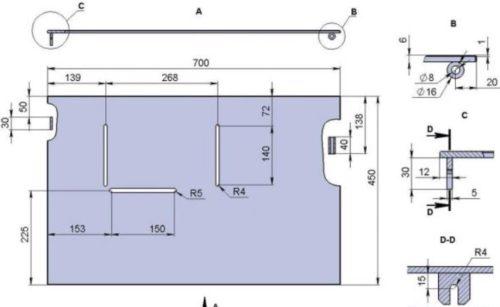 Стол для циркулярной пилы своими руками: инструкция, необходимые материалы и чертежи
