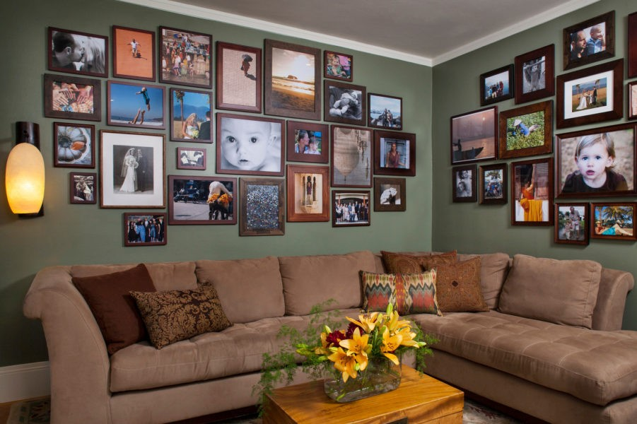 Множество фотографий и портретов