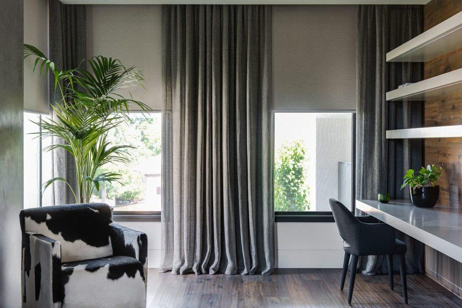 Удлиненные шторы