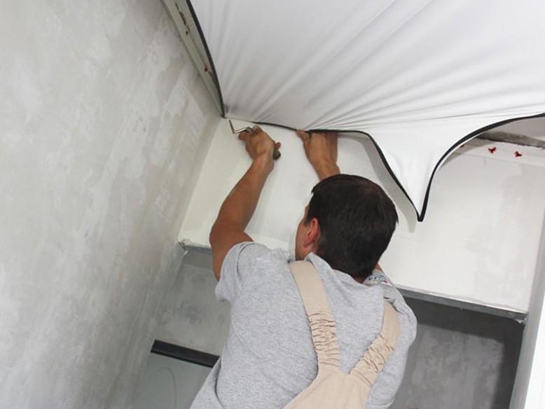 Замена потолка