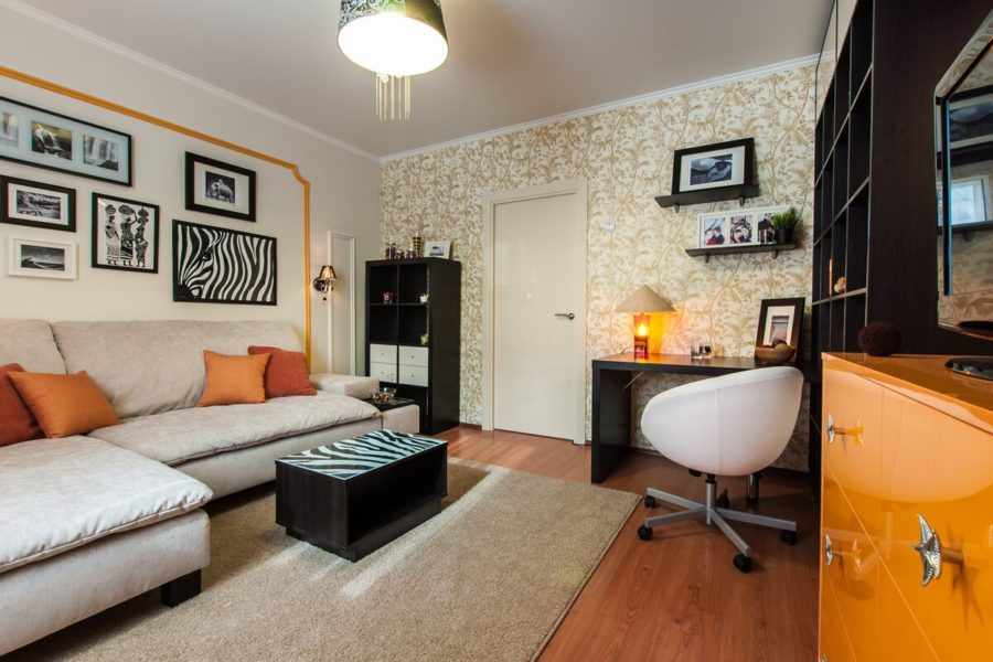 Преображение жилой комнаты